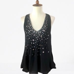 TOV Holy Jeweled Halter Top - Small
